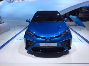 Toyota à pile combustible hydrogène 01